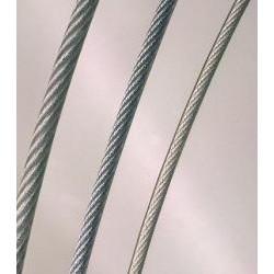 Câble en acier galvanisé...