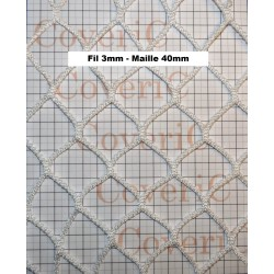 Filets sur mesure - fil 3mm...