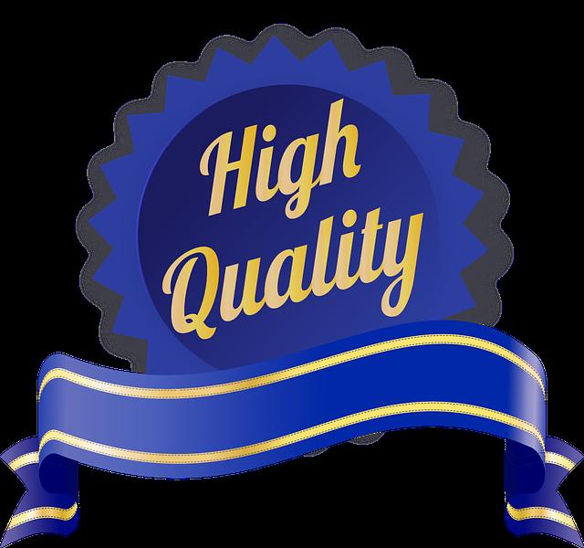 Produits de qualité professionnelle